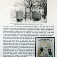 A Century with the Bell, Harrison and Zulauf Families in Jackson County, Missouri and Elsewhere p. 8