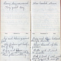 1901 Diary March 24-27