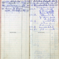 1899 Diary Bills Payable October-November