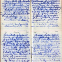 1899 Diary August 3-6