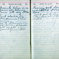 1903 Diary August 22-23