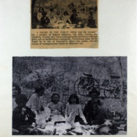 A Picnic In The Early 1900s