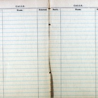 1914 Diary Calls Page 2 & 3
