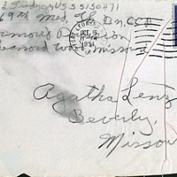 October 15, 1951 (envelope)