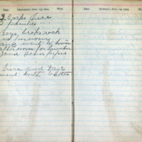 1904 Diary August 13-14