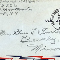 March 16, 1952 (envelope)