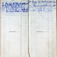 1899 Diary Bills Payable August-September