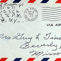 September 2, 1952 (envelope)