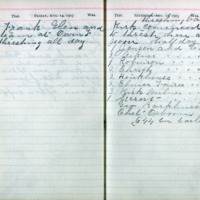 1903 Diary August 14-15