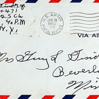 January 19, 1953 (envelope)