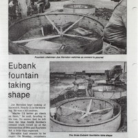 Eubank foundation taking shape