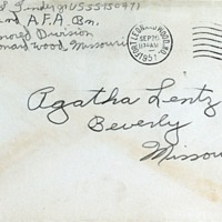 September 25, 1951 (envelope)