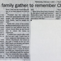 Family, friends gather to remember Chittwood