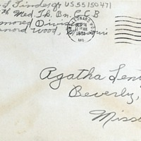 October 3, 1951 (envelope)