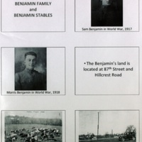 The Story of Benjamin Family and Benjamin Stables, p. 1