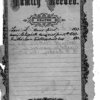 Family Record Deaths
