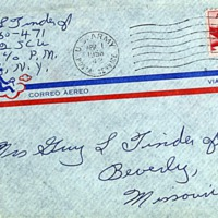 March 31, 1953 (envelope)