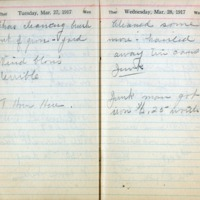 1917 Diary March 27-28