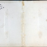 1914 Diary Inside Cover