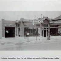 Robinson Raytown Ford Motor Co. Late Robinson Purchased in 1925 from Harriman Ford Co.