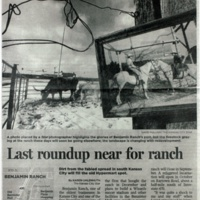 Last Roundup Near for Ranch