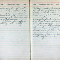 1903 Diary August 4-5
