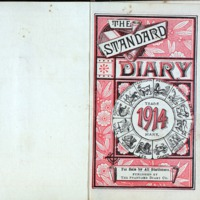 1914 Diary Title Page