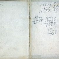 1914 Diary Back Cover