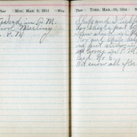 1914 Diary March 9-10