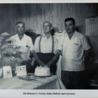 The Dehoney's: Vernon, father Buford, and Lawrence.