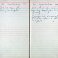 1903 Diary March 27-28