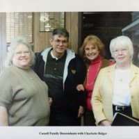 Cassell Family Descendants with Charlotte Belger