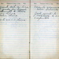 1904 Diary March 2-3