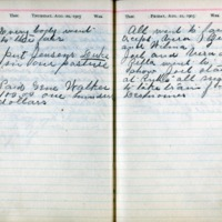 1903 Diary August 20-21