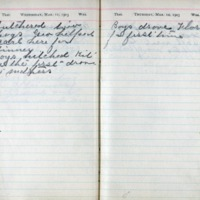 1903 Diary March 11-12