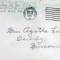 October 29, 1951 (envelope)