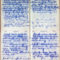 1899 Diary August 7-10