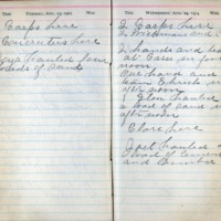 1904 Diary August 23-24