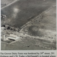 The Grover Dairy Farm was bordered by 39th street,