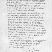 Letter to Bill (William) Richards, 17 May 2002