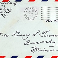 December 29, 1952 (front of envelope)