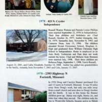 A Century with the Bell, Harrison and Zulauf Families in Jackson County, Missouri and Elsewhere p. 88