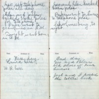 1901 Diary March 16-19