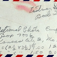 June 2, 1953 (back of envelope)