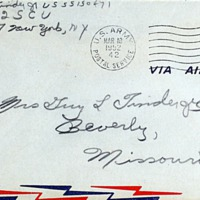 March 9, 1952 (envelope)