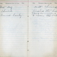 1904 Diary March 30-31