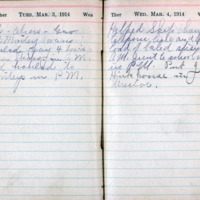 1914 Diary March 3-4