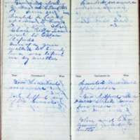 1901 Diary August 7-10