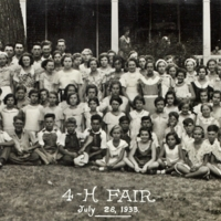 1933 4-H Fair Attendees