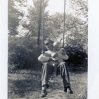 Herbert and Betsy Roy in swing